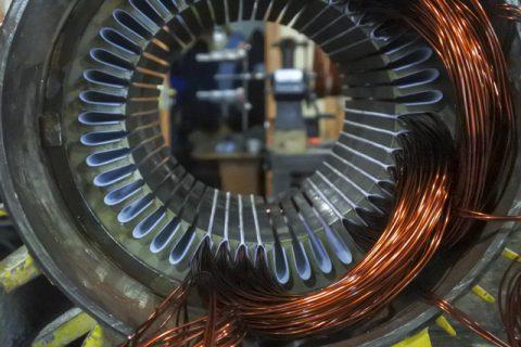 укладка эмаль провода